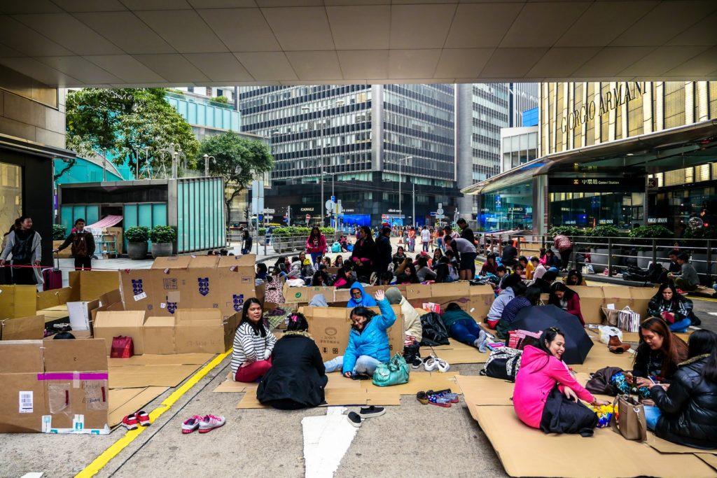 Filipińskie i indonezyjskie imigrantki w Hongkongu