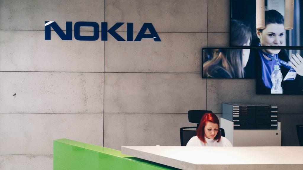 recepcja w siedzibie Nokia Garage