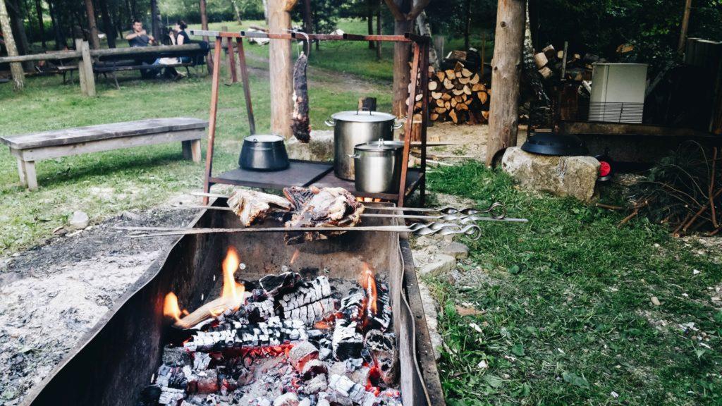 Restobar Ogień Pogorzany małopolska slowfood